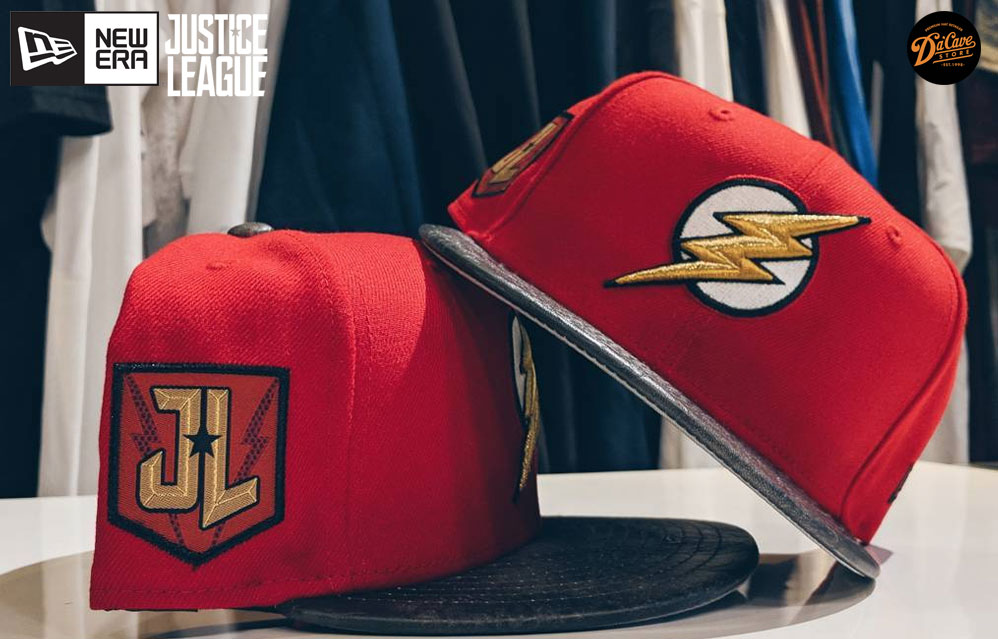 DC Comics has revealed their new line of New Era Caps from the upcoming  Warner Bros. DCEU film Justice League. BAm! Here come the Justice League  caps by New ... f38f8516064