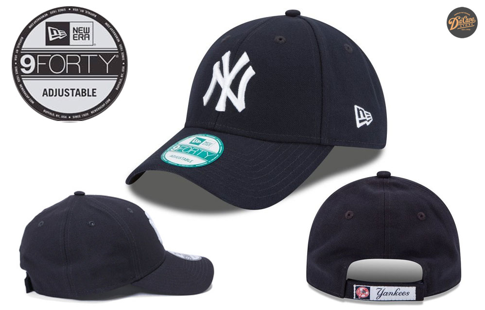 ffedc611613 The New Era 9FORTY adjustable hat is a nice mixture of the 39THIRTY and the  9FIFTY styles. This hat is similar in fit to the 39THIRTY stretchy hat with  its ...
