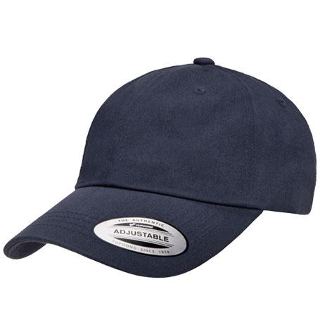 Yupoong Dad Plain Navy Cap