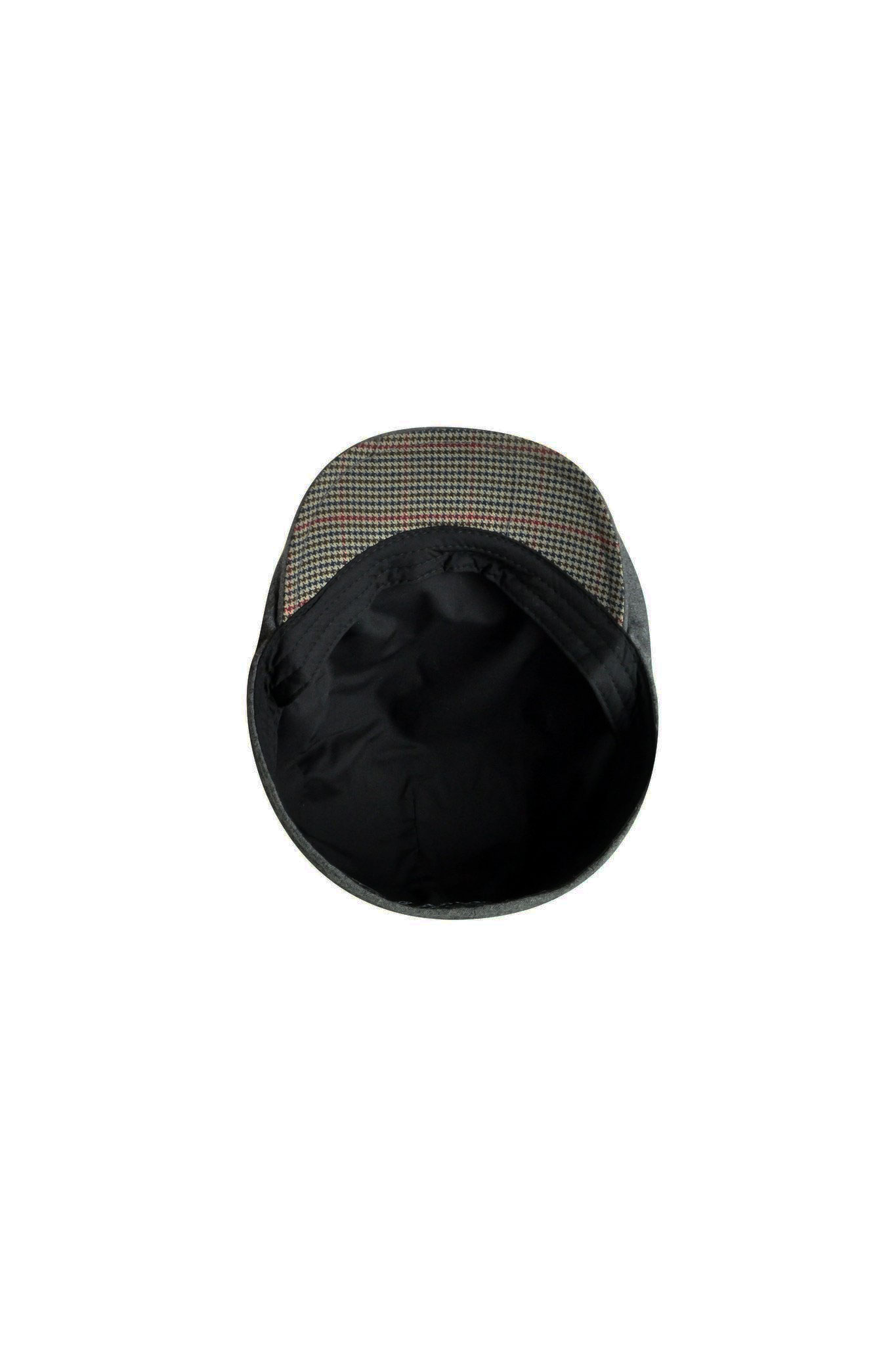c983d518675 Classic Style. Goorin Mikey Ivy Flat Cap In Charcoal