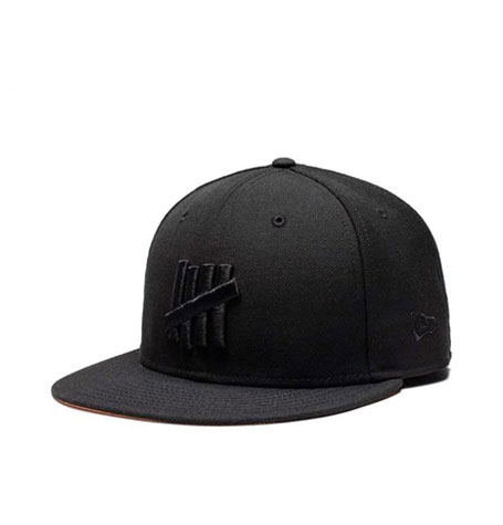 New Era x Undefeated Eject Fitted Black Cap  2be5d8095a9