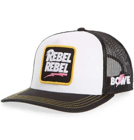 1708e380 Valin Bowie Rebel Rebel Trucker Hat | Da'Cave Store Singapore