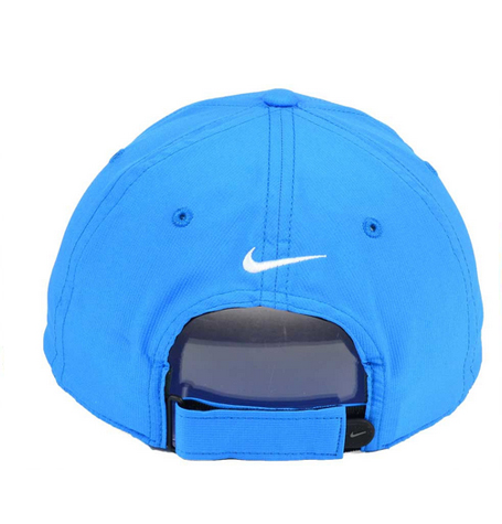 4892bd16dce Nike Legacy 91 Tech Swoosh Blue Curved Cap