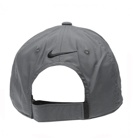 2077d7b662b49 Nike Legacy 91 Tech Swoosh Grey Curved Cap
