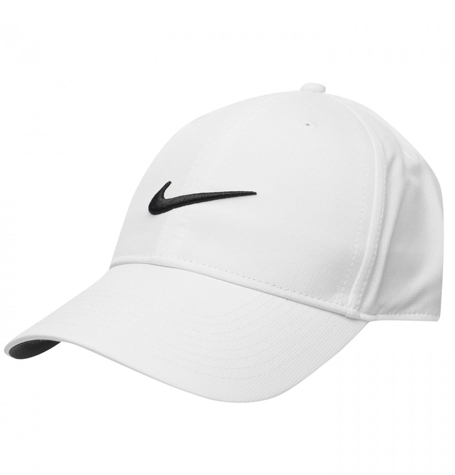 Nike Legacy 91 Tech Swoosh White Curved Cap  54180a56f99