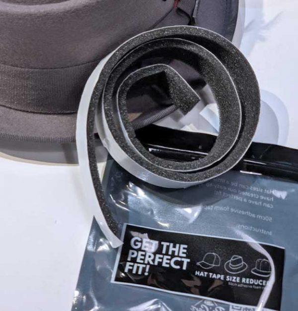 hat cap size reducing tape