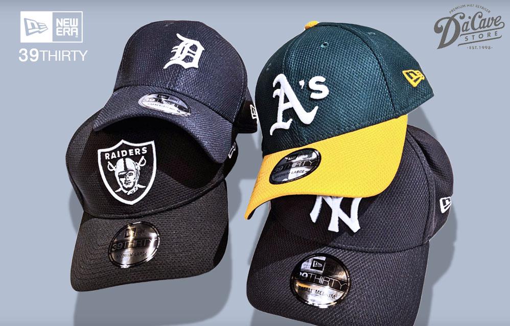new product 49160 a4e44 New Era s Diamond Era 39THIRTY Stretch Fit Baseball Caps