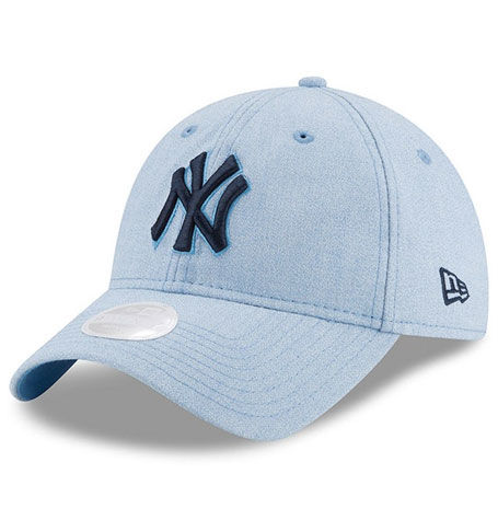 1fe62e41668 New Era 9Twenty New York Yankees Light Blue TWENTY Adjustable Hat ...