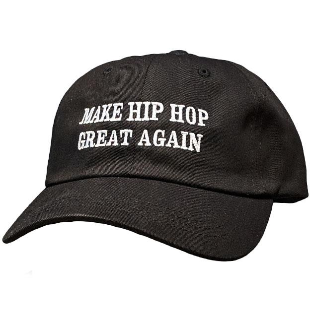 5a95da37 Make Hip Hop Great Again Dad cap Black