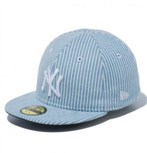 bdf03a5c2ad ... store 59fifty fitted caps. new era new york yankees japan denim hickory  washed blue infant