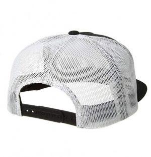 82a5293107d Brixton Palmer Mesh Black White Cap