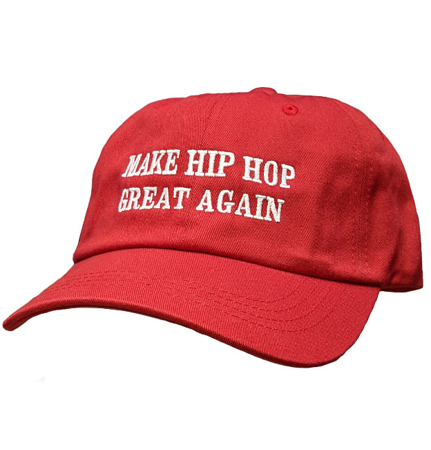 b951462cd7529 Make Hip Hop Great Again Dad cap Red