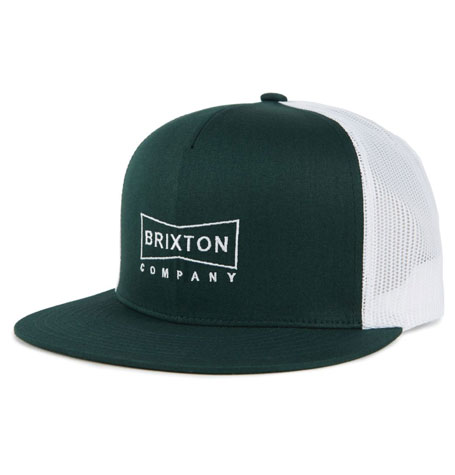 ad8adbbb1fe44 Brixton WEDGE High Profile MESH Pine Colour Cap