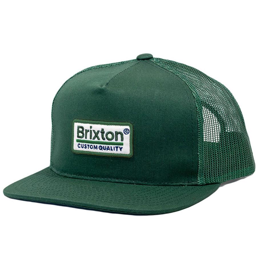 2f2a006f3f3db Brixton Palmer II Mid Profile MESH Pine Colour Cap