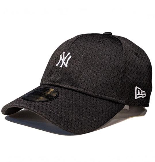 c1d96504ee90e New Era 9Twenty NY Yankees Athletic Mesh Mini Logo Black Cap