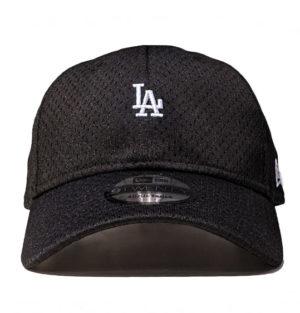 a94695be036 Baseball cap. New Era 9Twenty LA Dodgers Athletic Mesh Mini Logo Black Cap