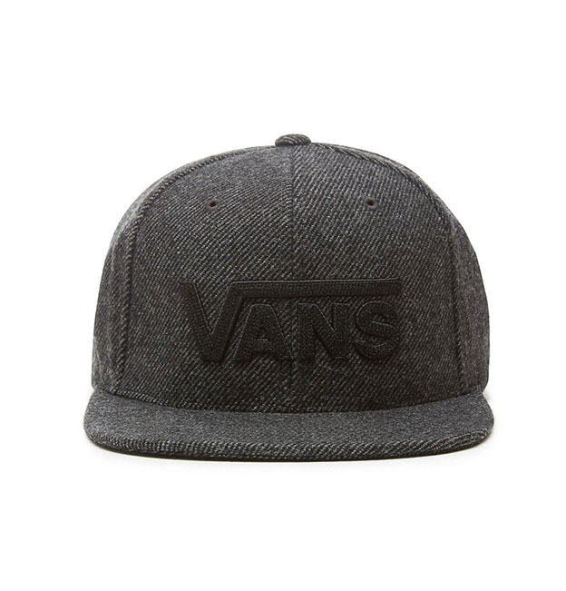1c2c7ddedf68d Vans Drop V II Snapback Cap - Asphalt