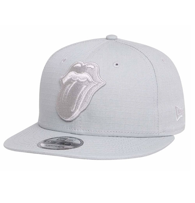 229abb433e2ef5 New Era Rolling Stones 9fifty Snap back Cap Grey | Da'Cave Store Singapore