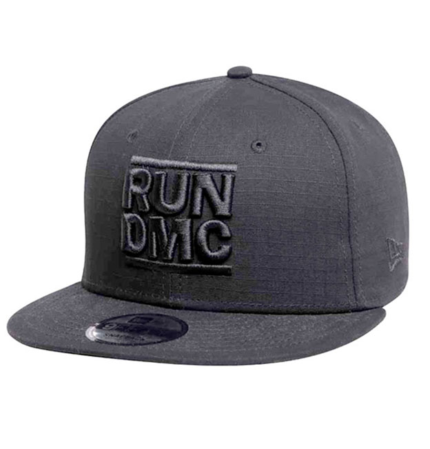 2c1b1a95f8e New Era Run Dmc 9fifty Snap back Cap Black
