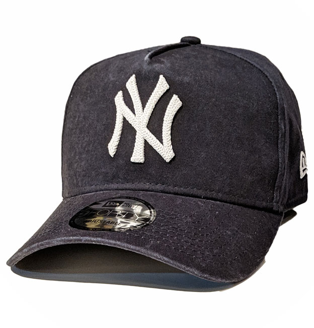 3bef3869 New Era 9forty A-Frame Stone Washed Navy Yankees Cap | Da'Cave Store ...