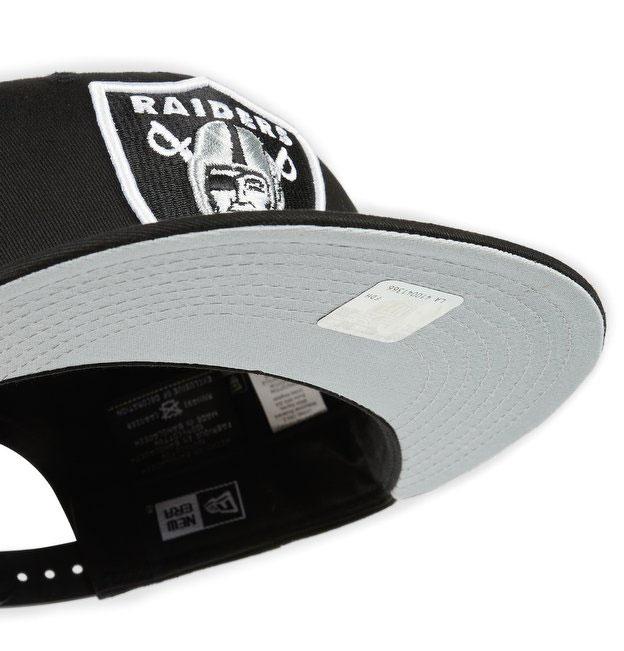 New Era Oakland Raiders Black 9Fifty Snapback