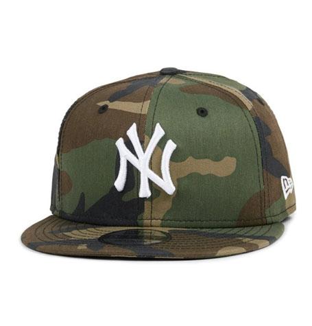 c9ec454a New Era NY Yankees Woodland Camo 9Fifty Snapback
