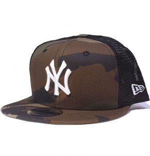 beedf7476 New Era NY Yankees Silver Logo Black 9Fifty Mesh Snapback. $65.00. New York  Yankees