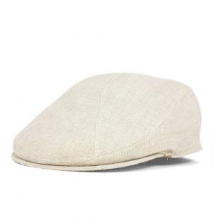 63fe8c48631b Classic Style. New York Hat Co. Linen 1900's Oatmeal Ivy Cap