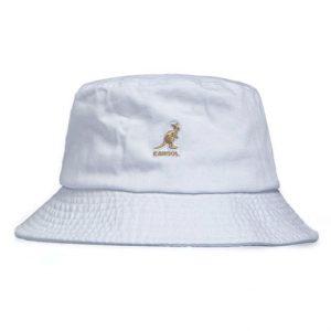 kangol bucket hat white dacave