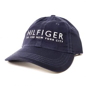 Tommy Hilfiger Navy Dad Baseball Cap