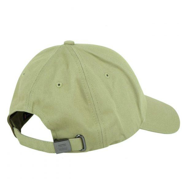 Tommy Hilfiger Faded Olive Green Baseball Cap