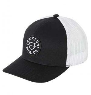 Brixton Crest MP Mesh Cap - Black