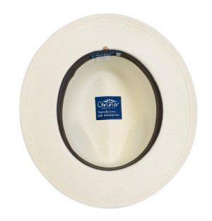Jensen Panama White Straw Hat
