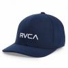 RVCA Navy Blue Flexfit Baseball Cap