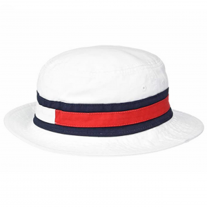 Tommy Hilfiger Jereth White Bucket Hat