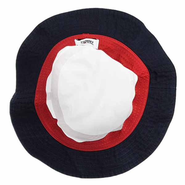 Tommy Jeans White Bucket Hat