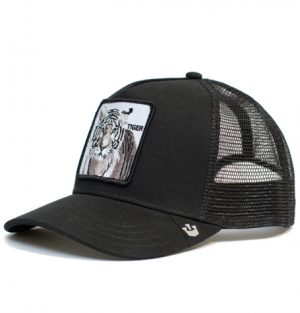 white tiger goorin trucker cap