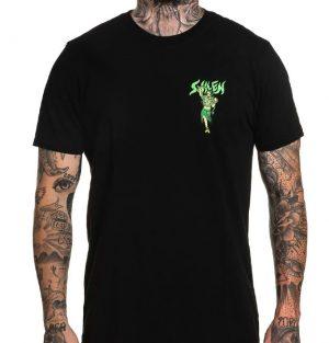 Sullen Fire Dancer Black T-shirt